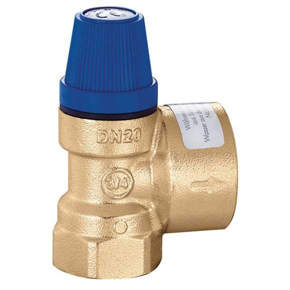 531 - Sigurnosni ventil za sanitarnu vodu. Priključci Ž-Ž.