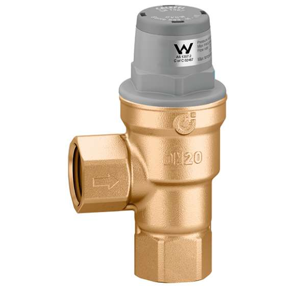 5335..H - Two-way inclined pressure reducing valve
