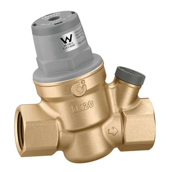 5335..H - Inclined pressure reducing valve.  Replaceable cartridge and strainer