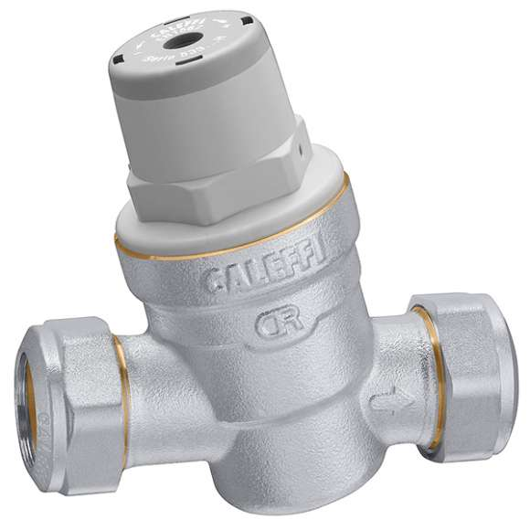 5336..H - Inclined pressure reducing valve  with compression ends. For high temperature