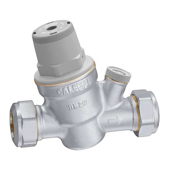 5337..H -  Inclined pressure reducing valve  with compression ends. For high temperature