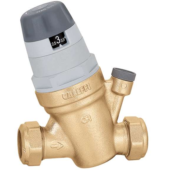 5350 - Pressure reducing valve with self-contained replaceable cartridge