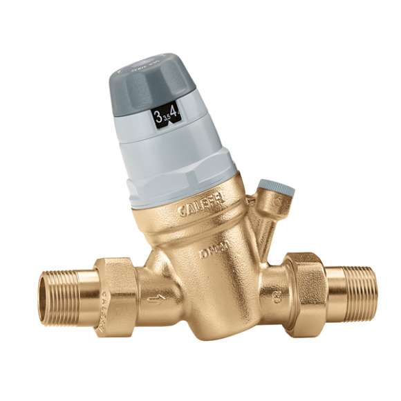 5350 - Redutora de pressão com cartucho monobloco extraível. Com ligação manómetro.