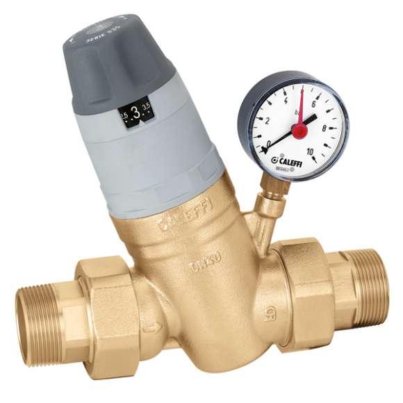 """5350 - Redutora de pressão com cartucho monobloco extraível. Com manómetro. 1 1/4""""÷2"""""""