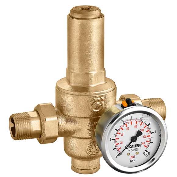 5360 - Redutora de pressão de segundo estado, com cartucho extraível. PN 40. Pressão de regulação a jusante: 0,5÷6 bar.