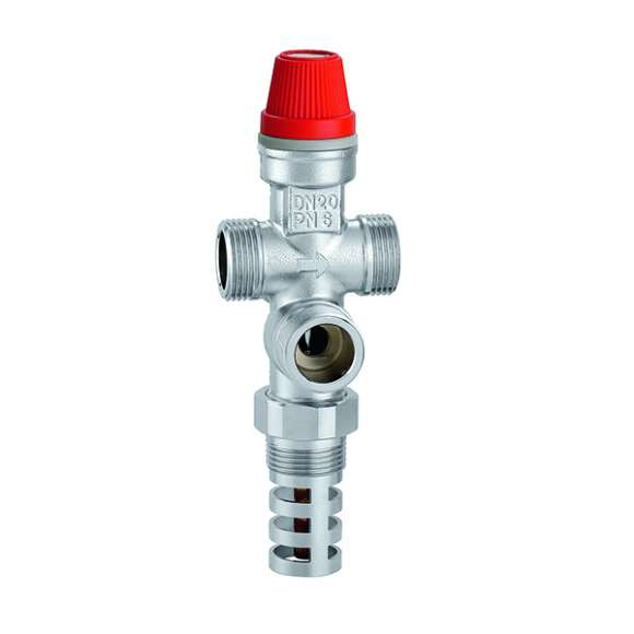 544 - Temperature relief valve with automatic filling