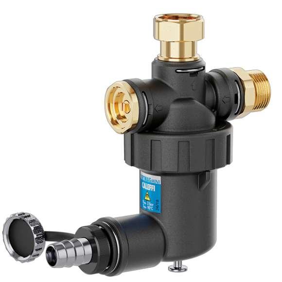 5450 - DIRTMAGMINI® - Under-boiler dirt separator strainer with magnet for under-boiler installation