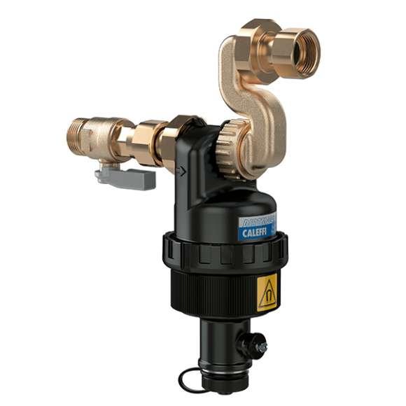 5452 - DIRTMAGSLIM® - Separador de sujidade com íman para instalação sob a caldeira. Para instalação com caldeiras Vaillant com ligações horizontais a antigo suporte descentrado.