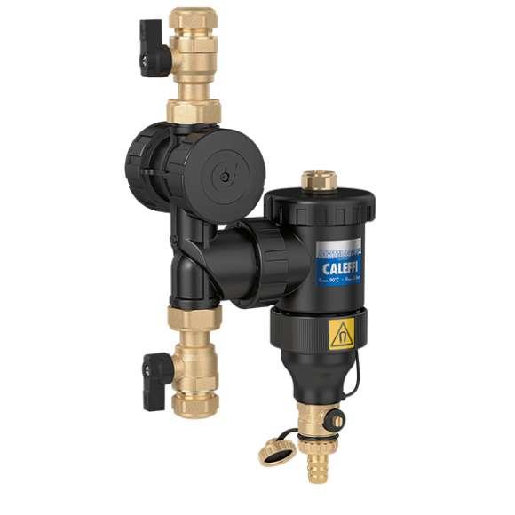 5453 - DIRTMAGPLUS® - Urządzenie wielofunkcyjne z separatorem zanieczyszczeń i filtrem. Ø 22 i Ø 28 ze złączkami zaciskowymi