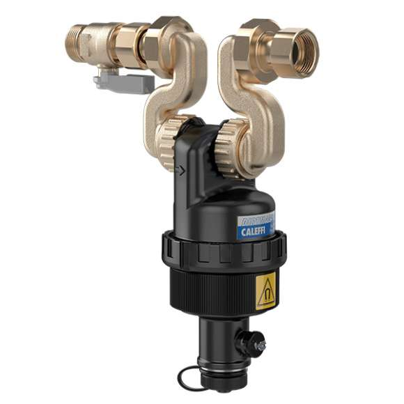 5454 - DIRTMAGSLIM® - Odvajač nečistoće sa magnetom  za ugradnju ispod kotla. Specifična konfiguracija za instalaciju  sa Vaillant kotlovima