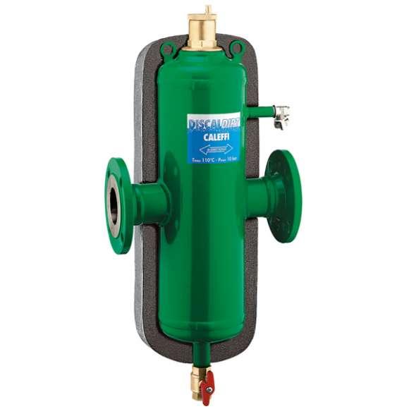 546 - DISCALDIRT® - Separador de microbolhas de ar e de sujidade. Ligações flangeadas. Com isolamento.