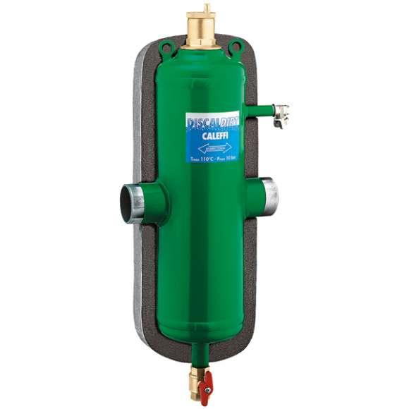 546 - DISCALDIRT® - Separador de micro-bolhas de ar e de sujidade. Ligações para soldar. Com isolamento.