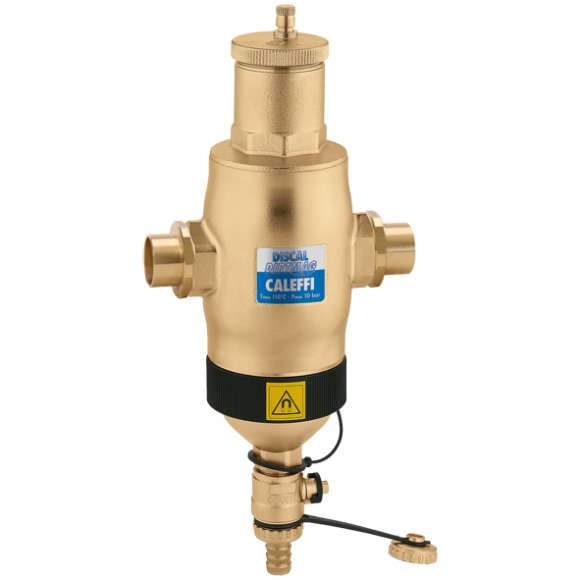 5461 - DISCALDIRTMAG® - Air and Dirt Separator with Magnet (brass)