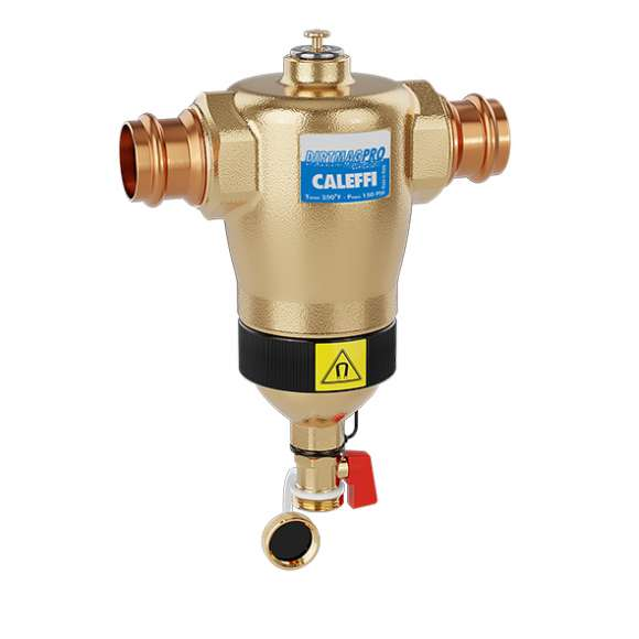 5463M - DIRTMAG® PRO - Dirt Separator with Dual Magnets (brass)