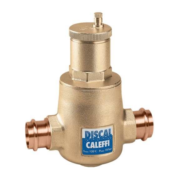 551 - DISCAL® Air Separators (brass, press, including service check valve)