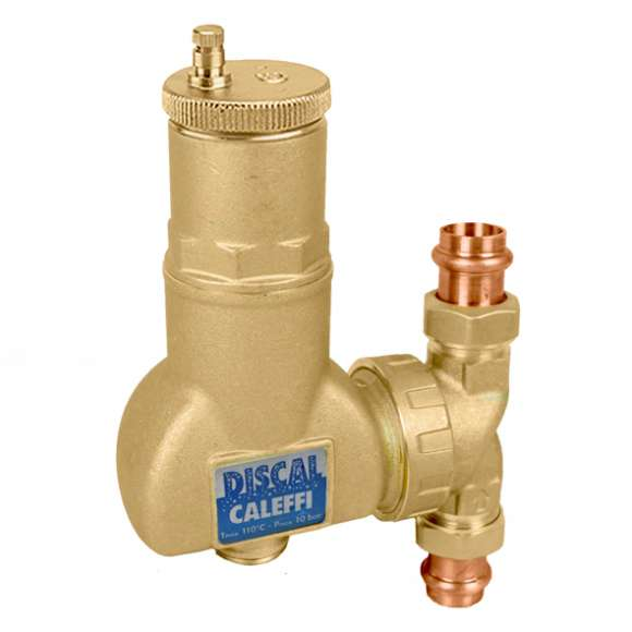 5517 - DISCAL® Air Separators for Vertical or Horizontal Pipes (brass)