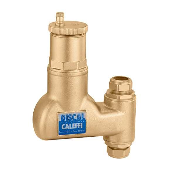 551 - DISCAL® - Separador de micro-bolhas de ar para tubagens verticais. Ligações roscadas fêmea