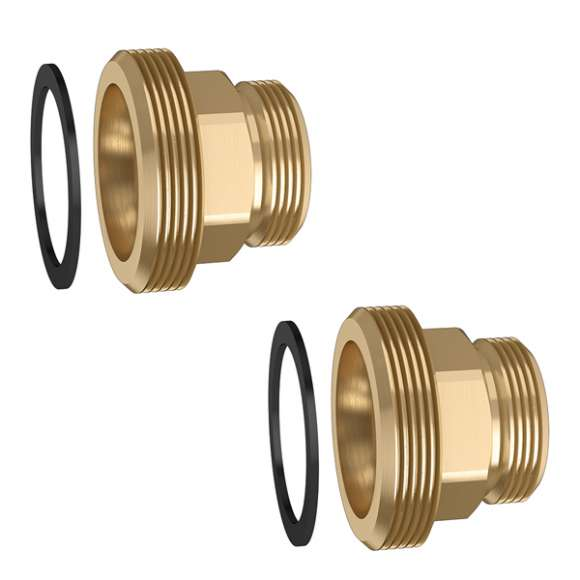 559 - Pair of fittings with gasket. For 550 and 559 series