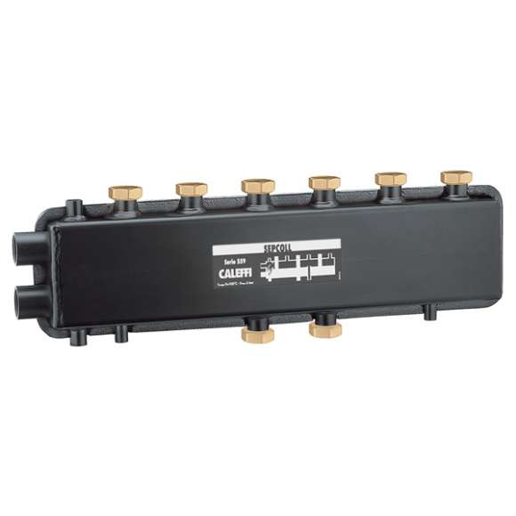 559 SEPCOLL  - SEPCOLL - 3+1 Isıtma sistemleri için hidrolik ayırıcı-kolektör.