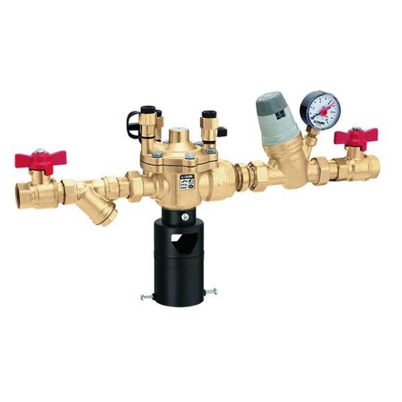 574001 - Автоматична група за пълнене със система за предпазаване от обратен поток тип BA, Y-филтър  и спирателен кран