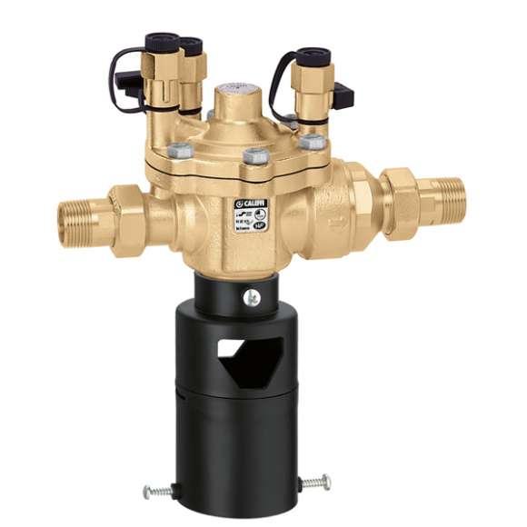 574 - Устройство с възможност за тестване, за предотвратяване на обратен поток със зона с намалено налягане