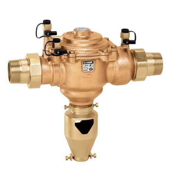 """574 - Controllable, reduced pressure zone backflow preventer. 1 1/2"""" - 2"""". BA type"""
