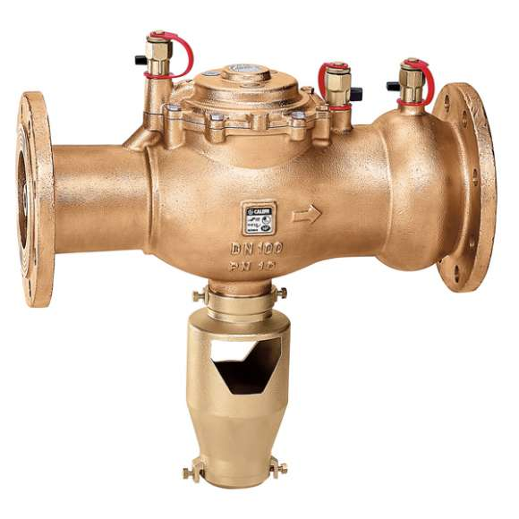 575 - Izolator przepływów zwrotnych ze strefą obniżonego ciśnienia z możliwością nadzoru. Przyłącza kołnierzowe. Typu BA - DN 50 do DN 100