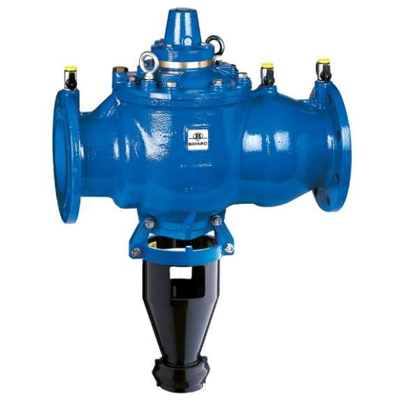 575 - Desconector de zona de pressão reduzida controlável DN 150 a DN 250. Tipo BA.