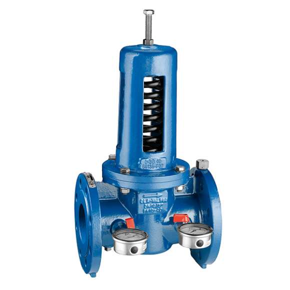 576 - Pressure reducing valve. Cast iron body, PN 16
