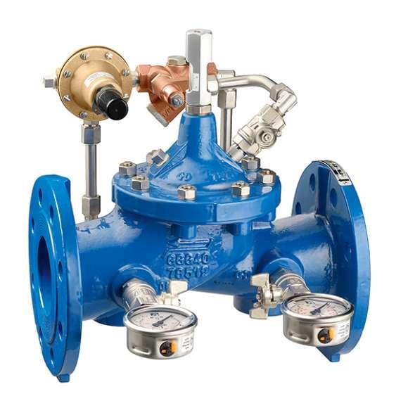 578 - Pressure reducing valve. Cast iron body, PN 25