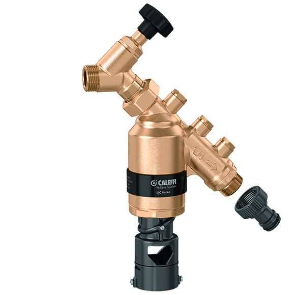 580 - Backflow preventer with multifunction geometry. BA type. DN 15-20
