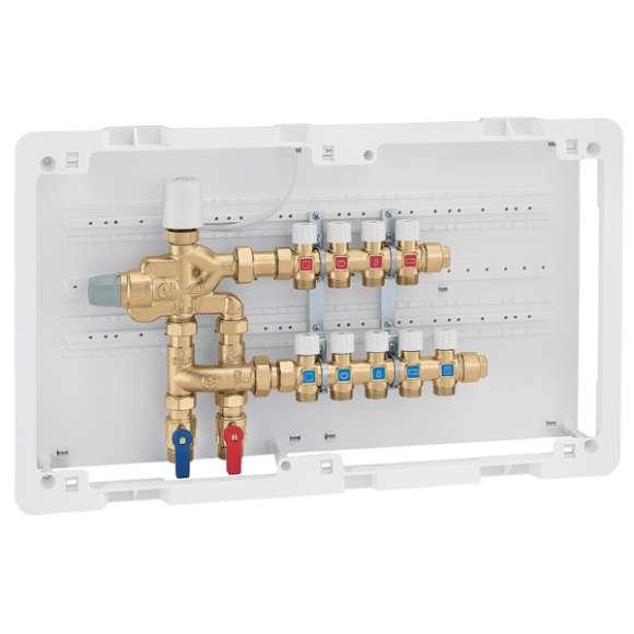 6005 LEGIOFLOW - Večfunkcijska kompaktna enota za nadzor temperature in termične dezinfekcije za sanitarne instalacije