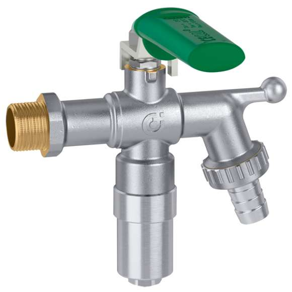603 - ICECAL® - Garden tap, ball type, with anti-freeze safety device