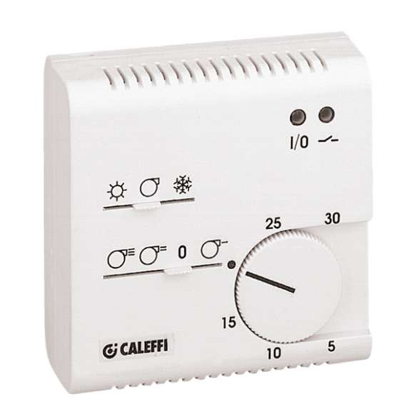 619 - Electronic room thermostat for fan-coil