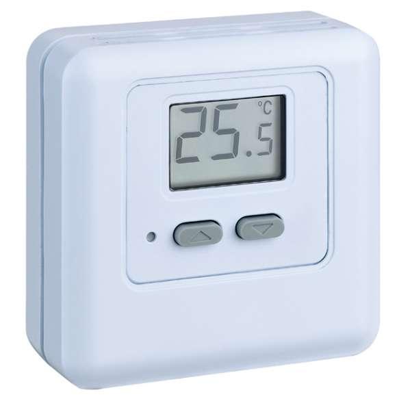 620 - Digitalni sobni termostat s prikazovalnikom, z baterijskim napajanjem