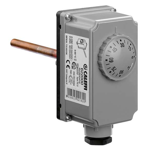 622 - Adjustable immersion thermostat