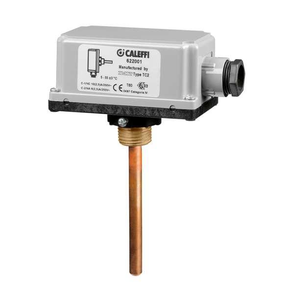 622 - Dodatkowy termostat bezpieczeństwa do instalacji płaszczyznowych