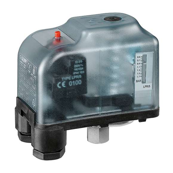 625 - Minimum pressure safety switch