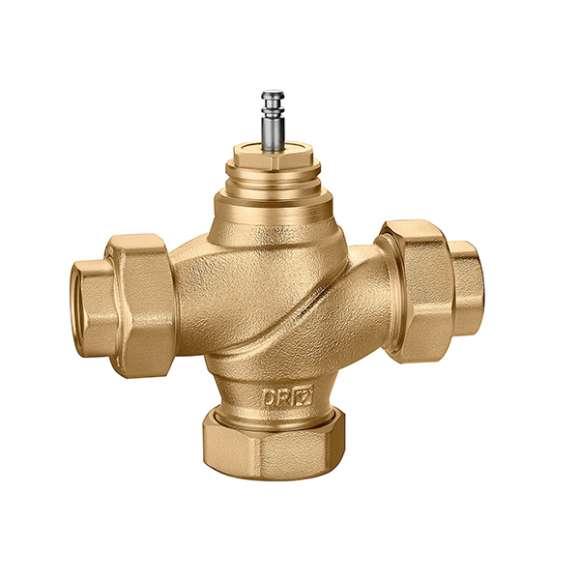 636 - Dvokraki regulacioni ventil sa ravnim zatvaračem, navojni