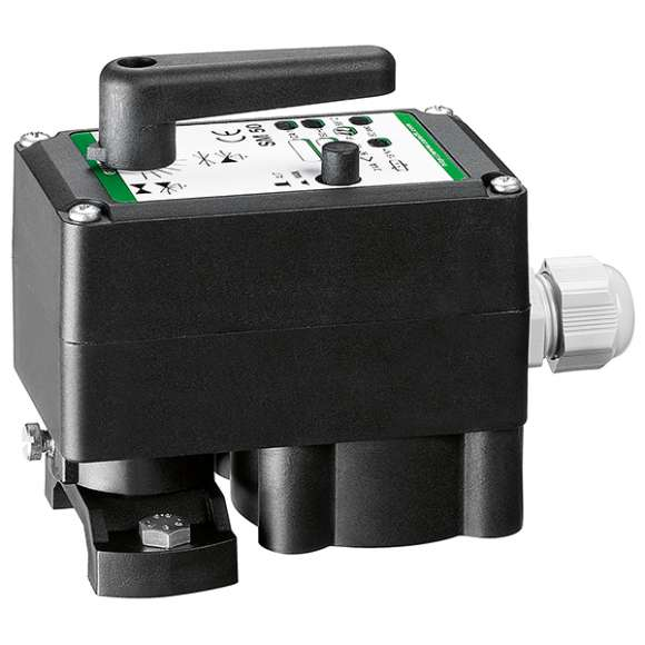 "6370 - Actuator for mixing valves from 3/4"" to 1 1/2"". With auxiliary microswitch. Boiler inlet on the LH connection"