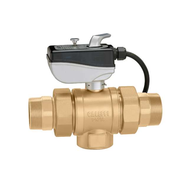 638 - Motorized two-way ball valve
