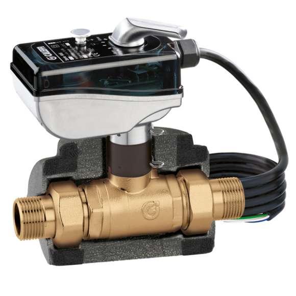 6452 - Motorizirani dvopotni conski kroglični ventil za sisteme za pohlajevanje
