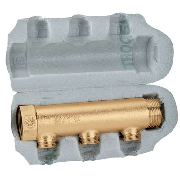 650 - Modular single distribution manifolds for air conditioning systems.With insulation