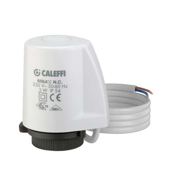 6564 - Elektrothermische bediening voor radiatorventielen, zoneventielen en collectoren. Met indicatie geopende positie. Laag energieverbruik.