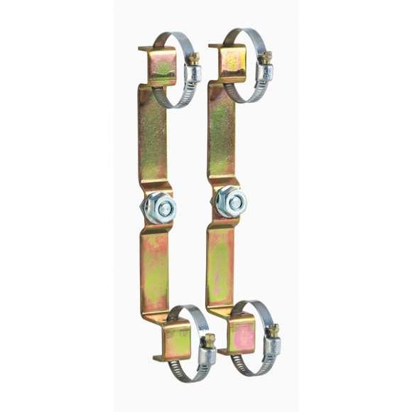 """658 - Par de suportes de fixação para coletores série 350 e 592 de 3/4"""" 1"""""""