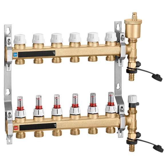 664 - Pre-assembled distribution manifold