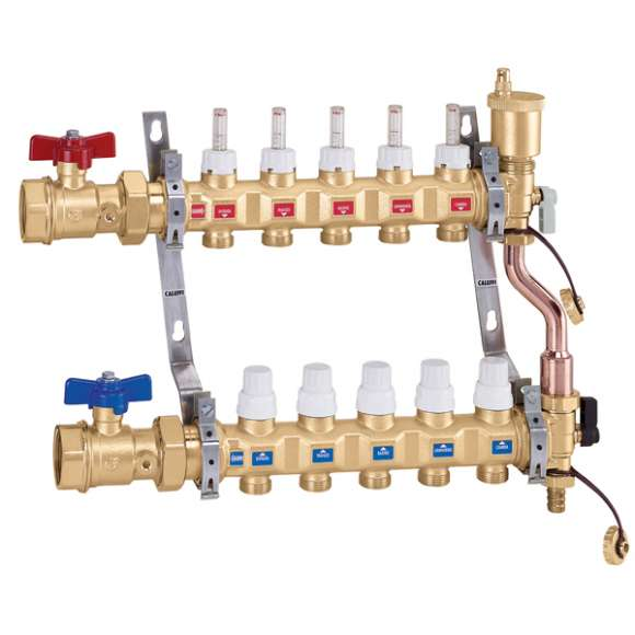 668...S1 - Pre-assembled distribution manifold