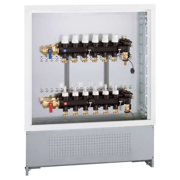 670 - Pre-assembled distribution manifold