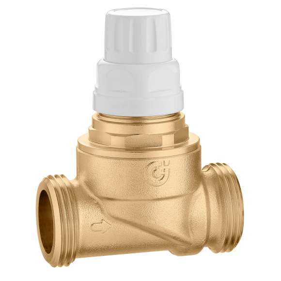 676 - Two-way zone valve with high flow rate