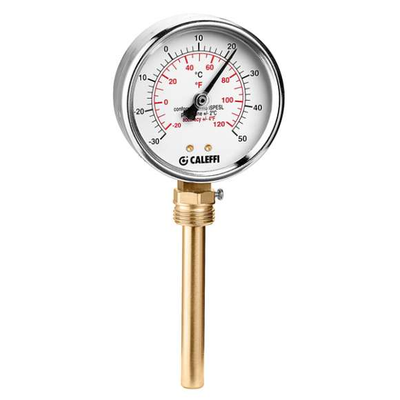 687 - Temperature gauge for cooling - bottom connection 1/2""